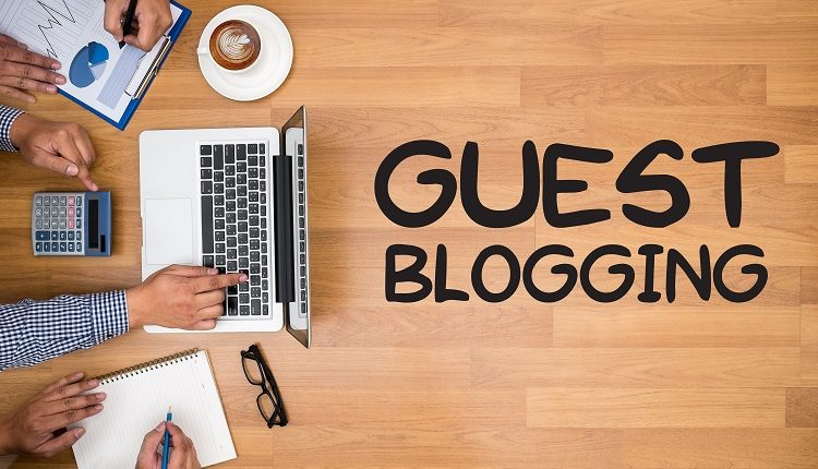 What is meant by guest posting?